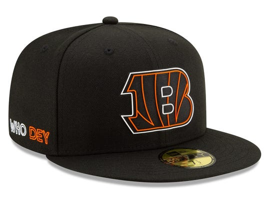 The Bengals' official 2020 NFL Draft hat