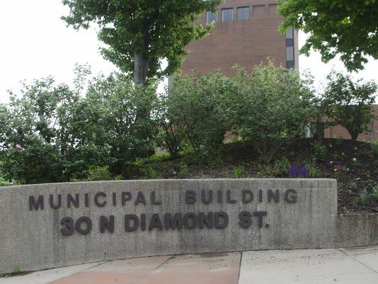 Mansfield Municipal Building stock