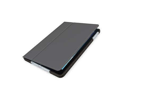 Dubbed the Big Bang, Logitech's protective case for the iPad promises to be as tough as its name implies. Built with a shock-proof and absorbent material, the case's shell and cover can withstand drops from about 4.5 feet.