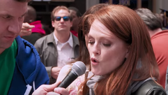 """Julianne Moore, getting really into her """"Maude from"""