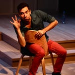 """Karl Gregory stars in the one-man show """"Buyer & Cellar"""" at Kitchen Theatre Company."""