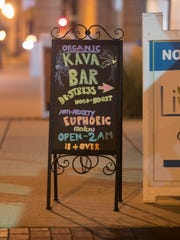 Sisters Caroline and Jacqueline Rusher opened the Kava Culture Kava Bar in downtown Fort Myers at the end of December. They share a space with Living Vine Organic Cafe near the library on First Street.