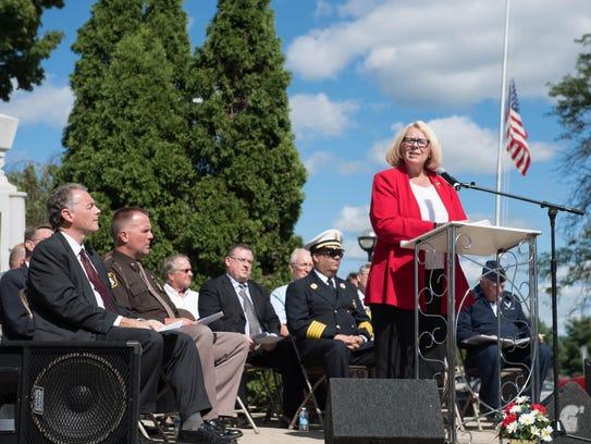 Deborah Owens, Battle Creek City Commissioner speaks