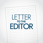 Letter to the editor for April 23