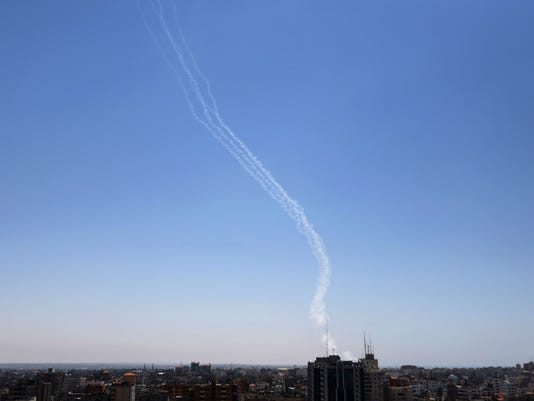 AP Mideast Israel Palestinians