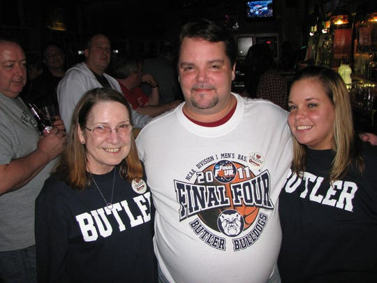 Red Key legacy: Dollie and Jim Settle and their daughter, Leslie, the bar's owner operators.