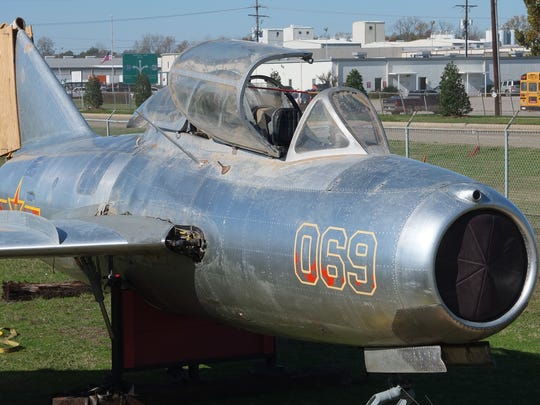 A Russian design, the MiG-15 is one of the most recognizable warbirds in the world. The Korean War-era Chinese MiG-15 trainer, when restored, will stand alongside Chennault Aviation & Military Museum's other historic aircraft.
