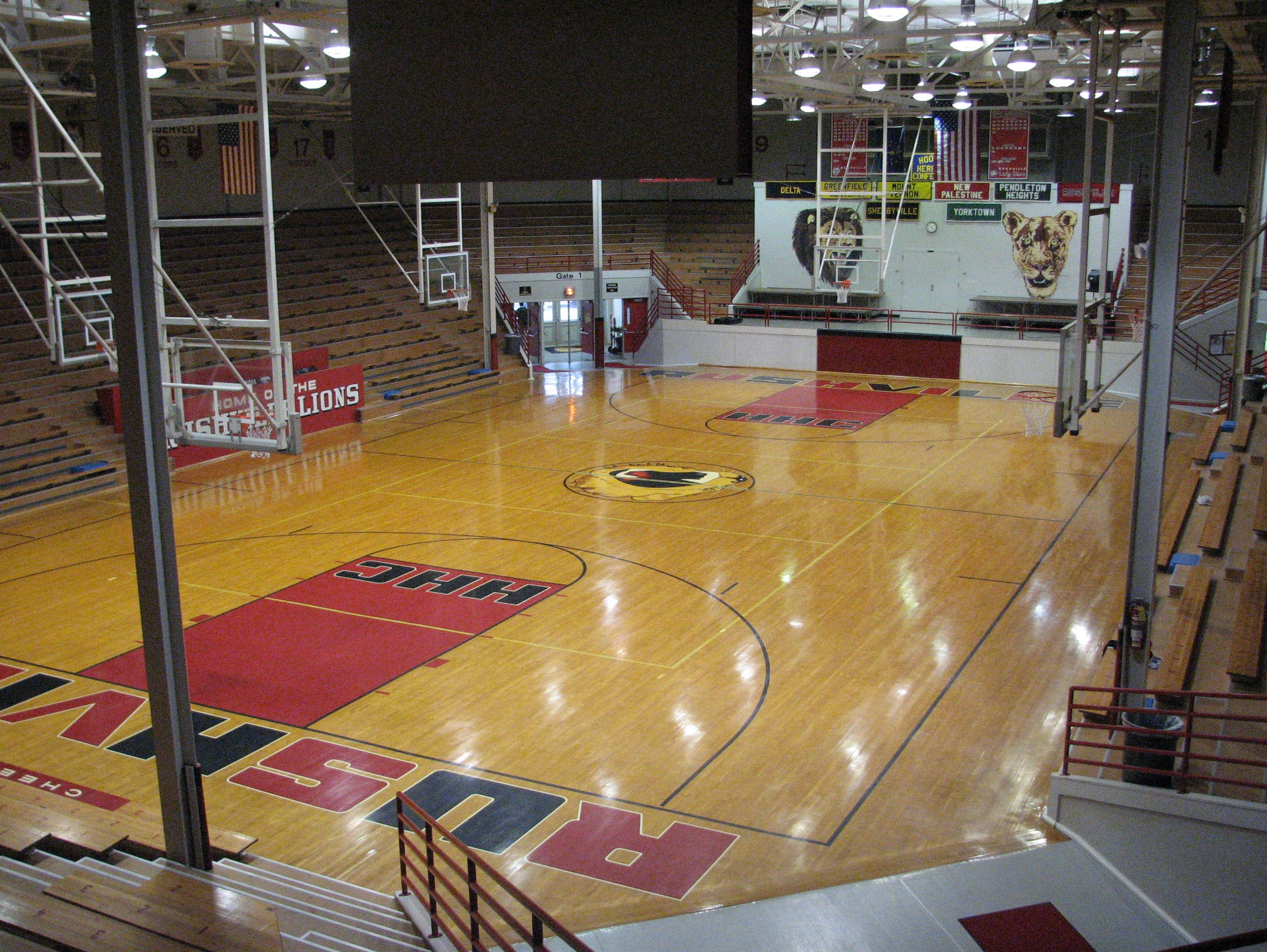 The 1926 Rushville gym is the fourth-oldest high school gym in the state that remains in use.