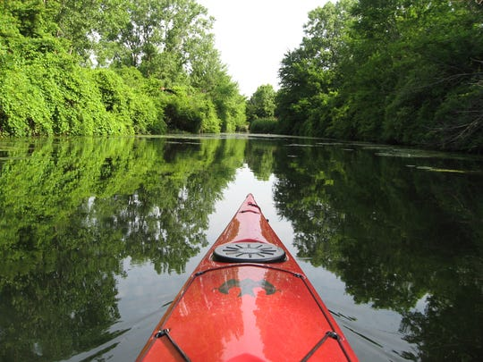 If you really want to see the natural beauty of the Detroit River, grab a paddle. Humbug Marsh shown here is one of the last natural areas on the U.S. side of the river.