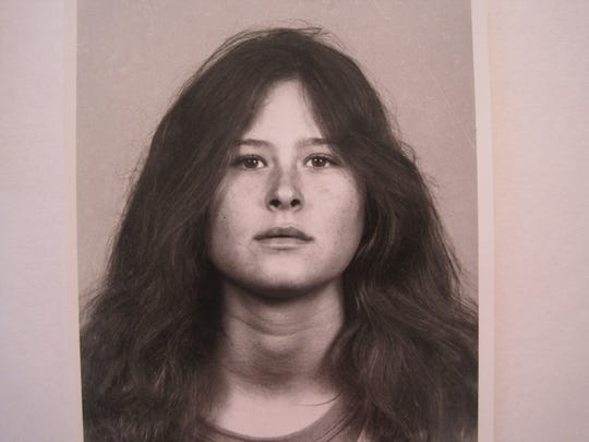 A 1984 photograph of Annette Craver, 18, after she married Felix Vail