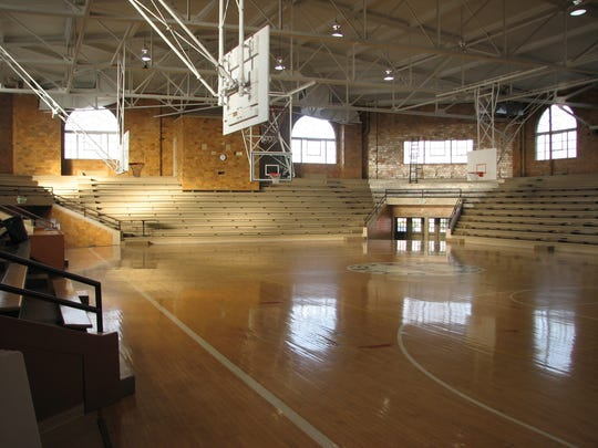 "Lebanon's Memory Hall was built in 1931 and last used as a high school gym in 1968. It was one of the gyms featured in the movie ""Hoosiers."""