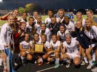 Manheim Township claimed the 2016 L-L girls' soccer title with a 2-1 win over Elizabethtown on Thursday, October 20, 2016.