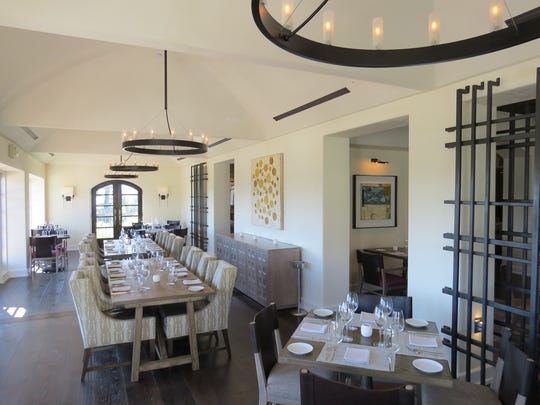 Olivella, the fine-dining restaurant at the Ojai Valley Inn & Spa, will serve a five-course Thanksgiving dinner on Nov. 24.
