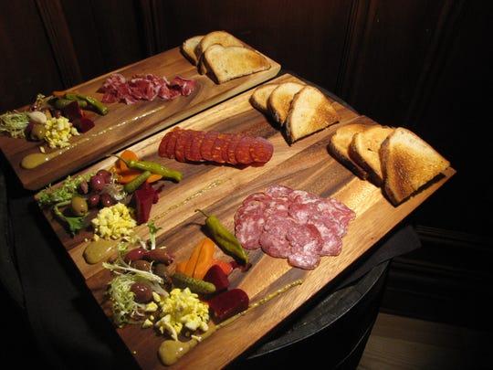 Three of Project P.U.B.'s meat boards.
