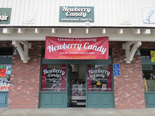 Newberry Candy opened in December at the Inland Country