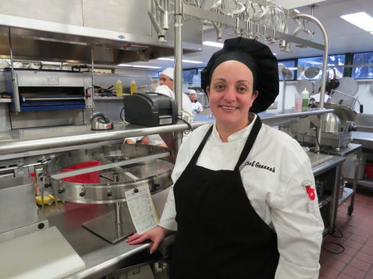 Genneah Figueroa, chef instructor for the culinary