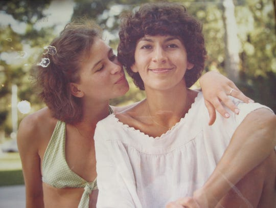 Annette (left) and Mary Craver, circa 1977-1978
