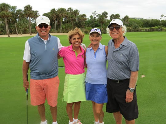 Bob and Karen Drury, left, with Rod and Julie Parker at the Amateur Tournament benefiting the Boys and Girls Clubs of Indian River County.  Eighty four golfers participated in the Amateur Tournament Nov.13at the Vero Beach Country Club.