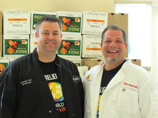 Ventura County chefs Tim Kilcoyne, left, and Jason