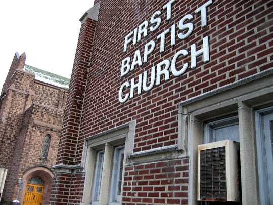 First Baptist Church in Johnson City.
