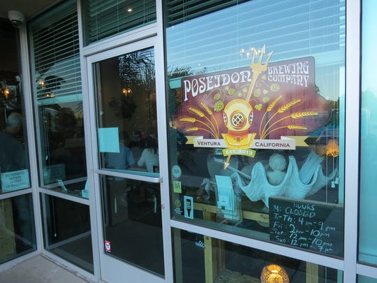 Poseidon Brewing Co. is located in a Ventura business park at                        5777 Olivas Park Drive, Unit Q. Its front door faces Bunsen Avenue.