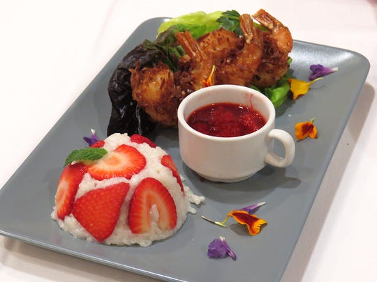 Berry Blast Off recipe contest finalist Jake Hagen will prepare Coconut Shrimp with Strawberry Chipotle Dipping Sauce and Sweet Coconut Rice during a timed, on-stage competition Saturday at the California Strawberry Festival.