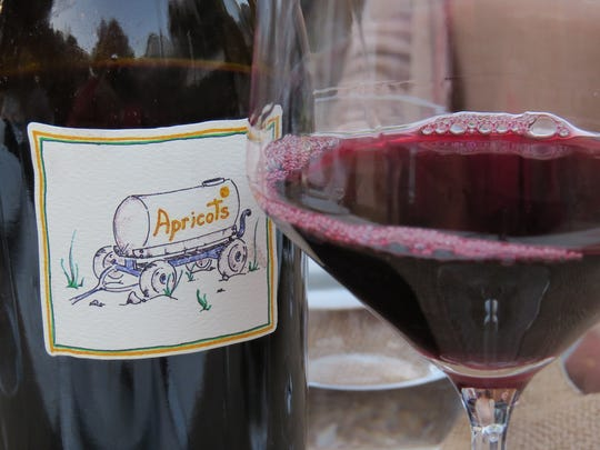 The name of this grenache-sangiovese blend from The