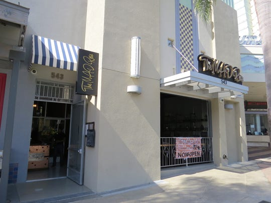 The Mad Rose restaurant is located in what was previously