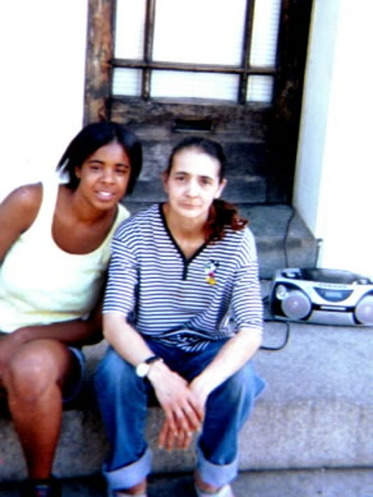 Anna Witter, right, was shot in the chest Oct. 19, 2005, while sitting in front of a neighbor's home in the 100 block of South Duke Street in York.