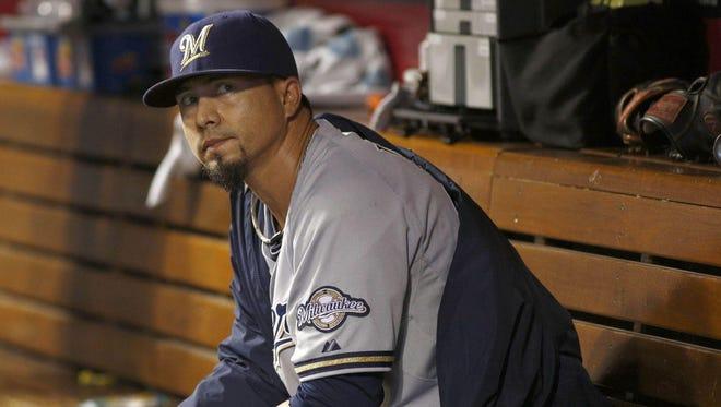 Milwaukee Brewers starter Kyle Lohse has an MLB-worst 6.44 ERA through 14 starts this season.