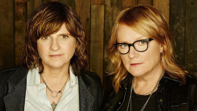 The Indigo Girls have performed together for 35 years; they'll bring their brand of folk-rock to the GrassRoots Festival on Thursday.