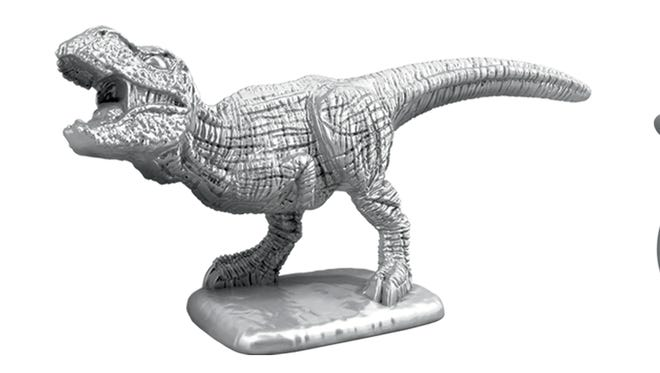 T-rex, rubber ducky, and penguin tokens will be featured in games of Monopoly this fall.