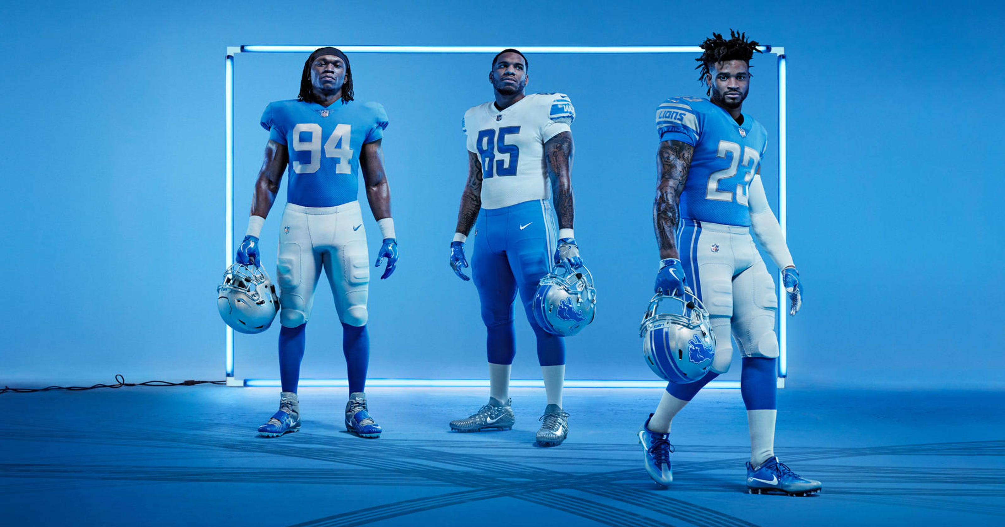 d51afcf6e65 Rod Wood  All four new Detroit Lions uniforms should be worn in 2017