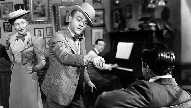 "James Cagney plays composer George M. Cohan in 1942's ""Yankee Doodle Dandy."""