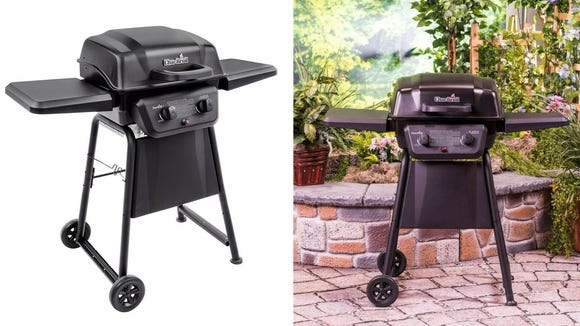 This gas grill is perfect for the casual BBQ—and it's under $100 right now