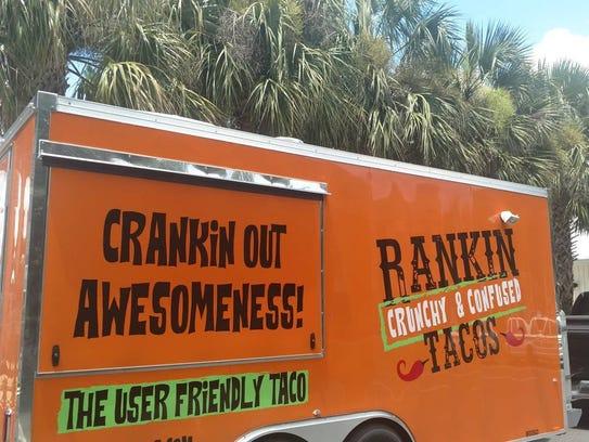 Rankin Crunchy & Confused Tacos food truck