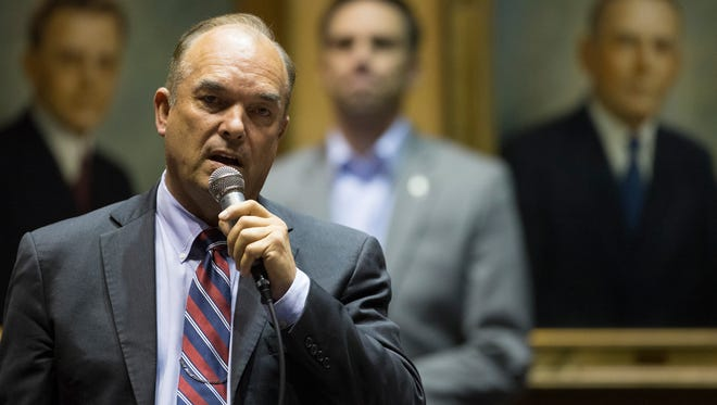 Sen. Don Shooter, R-Yuma, will have an opponent in Toby Farmer in the Republican primary.