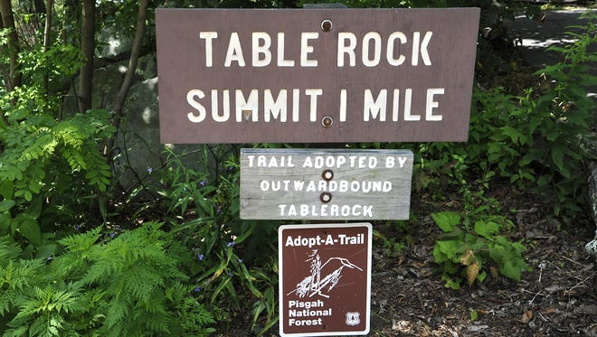 Table Rock picnic area and parking lot will close for repairs on Monday.