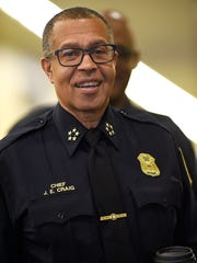 """I understand that it's important for a police department to reflect the community it serves, and we're doing our best to do that,"" said Detroit Police Chief James Craig."