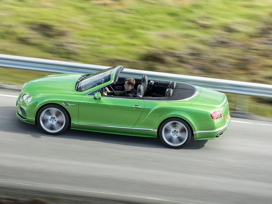 The Bentley GT Speed is the fastest four-seat convertible on the market.