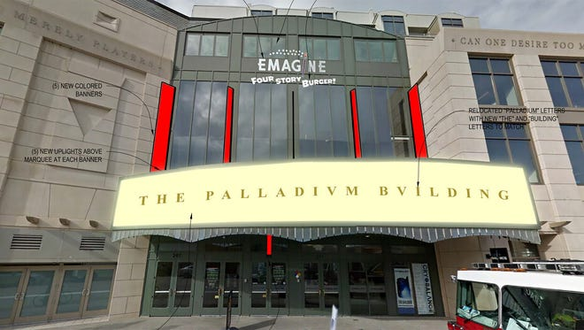 Opening Four Story Burger has caused a bit of consternation between Birmingham officials and Emagine Theaters.