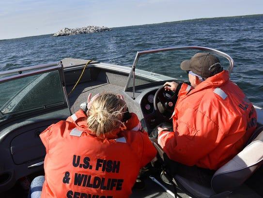 Mille Lacs National Wildlife Refuge Manager Walt Ford