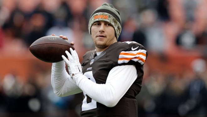 Browns quarterback Johnny Manziel was involved in an altercation at a luxury apartment early Friday morning.