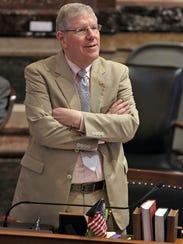 Iowa State Sen. Robert Dvorsky ( D ) , of Coralville,
