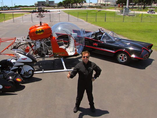 """The original """"Batcopter"""" will fly at the Stuart Air"""