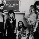 An undated early photo of Fleetwood Mac (from left): Mick Fleetwood, Stevie Nicks, John McVie, Christine McVie and Lindsey Buckingham.
