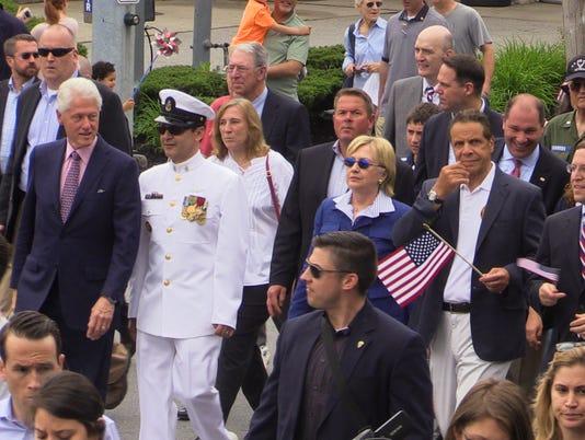 Bill Clinton Hillary Clinton and Gov. Andrew Cuomo