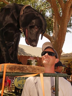 Armando Navarro, a Phoenix firefighter and his K-9 partner Oso, have a special bond.