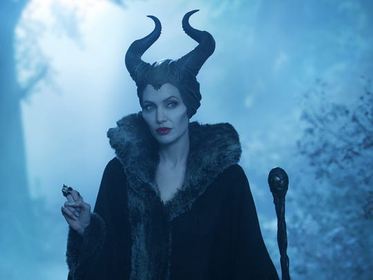 "Angelina Jolie cranks up the star power in the title role of ""Maleficent."""