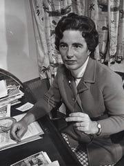 Mimi Cecil in March 1970.